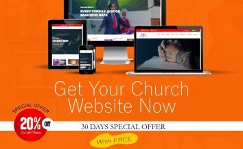 Get Your Church Website – Exclusive 30 Days Special Offer
