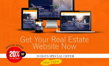 Get Your Real Estate Website – Exclusive 30 Days Special Offer